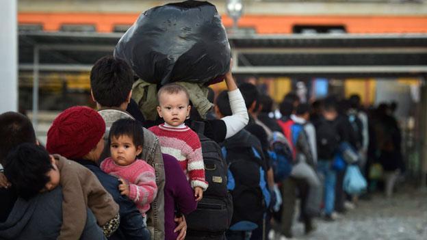Notfallkonzept Asyl: Kantone wollen Kompetenz an Bund delegieren