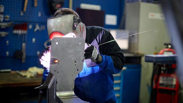 Industrieproduktion im drittel Quartal eingebrochen