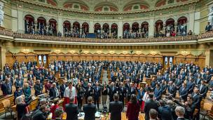 Audio «Bundesratswahl: Die Wiederkehr der Konkordanz – Ein Kommentar» abspielen.