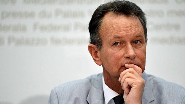 Rücktrittsankündigung von FDP-Präsident Philipp Müller