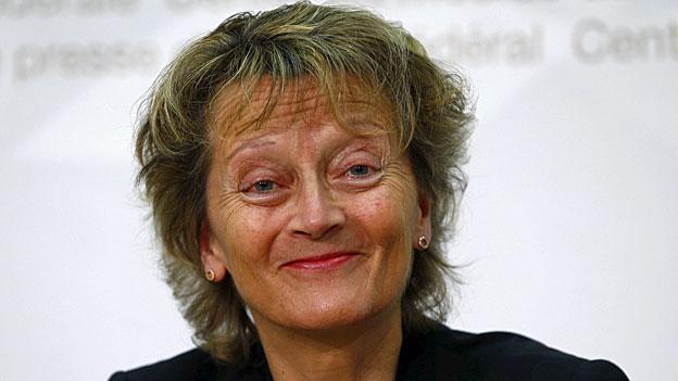 Im Tagesgespräch: Bundesrätin Eveline Widmer-Schlumpf
