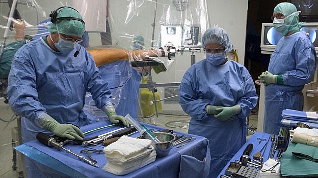 Je mehr Operationen, desto höher der Bonus