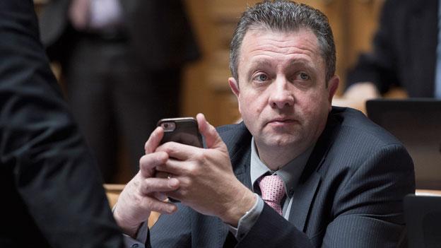 Jacques Nicolet wird neuer Präsident der SVP Waadt