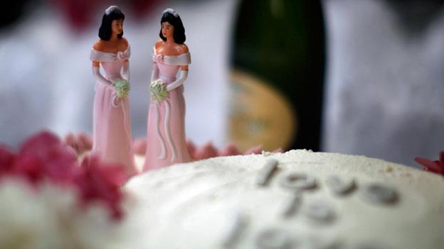 Eheverbot für Schwule und Lesben?