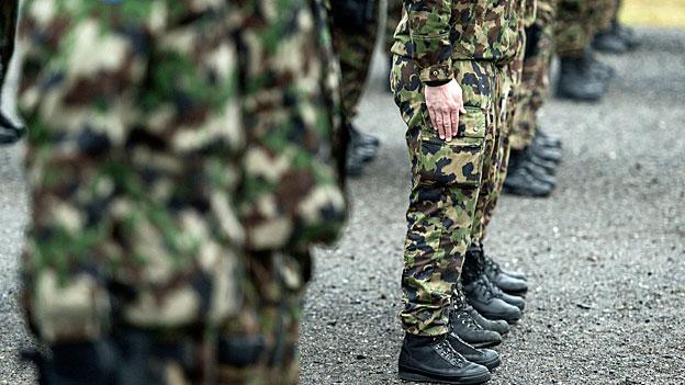 Kein zusätzliches Geld für die Armee