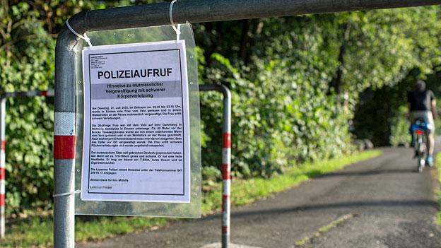 Tätersuche in Emmen – tausende Mobiltelefonnummern überprüfen