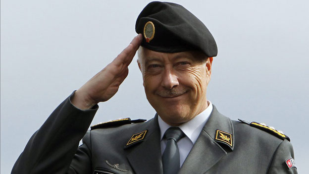 Abtreten! Armeechef Blattmann nimmt den Hut