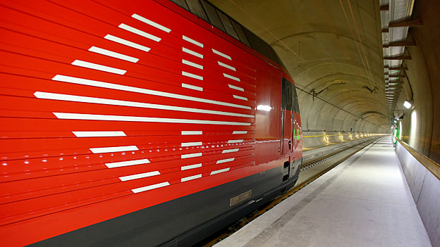 Gotthard – die Probleme des Gütertransports auf der Schiene