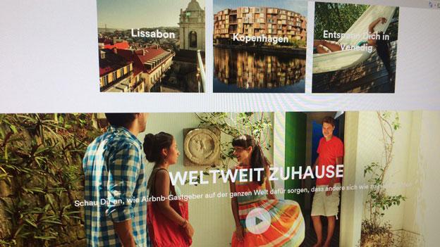 Mit «Airbnb» Zweitwohnungs-Initiative umgehen