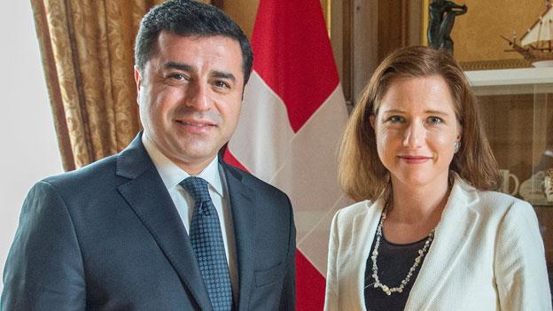 HDP-Chef Demirtas wünscht mehr Kritik aus der Schweiz
