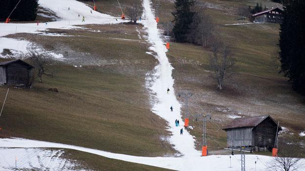 Bergbahnen fordern raschere Entschädigung bei Schneemangel