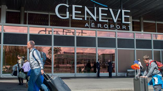 Frankreich verweigert Flughafen Genf Mitarbeiterdaten