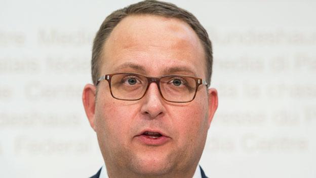 Tessiner Polizeidirektor Norman Gobbi zur Flüchtlingssituation