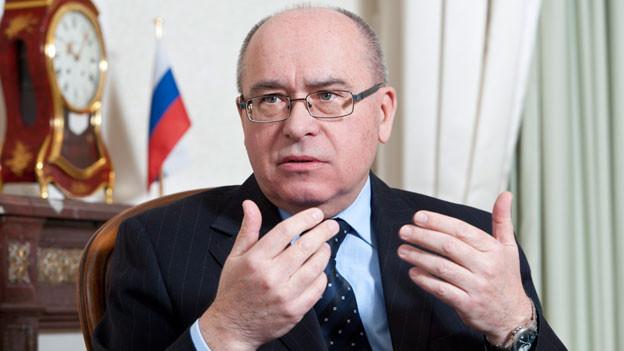 Audio «Alexander Golovin, Botschafter Russlands in der Schweiz» abspielen