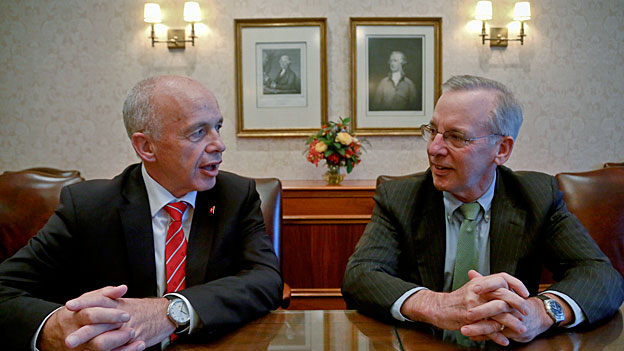Wunschdenken des Schweizer Finanzministers in New York