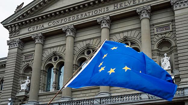 Audio «Der Einfluss der EU auf das neue Zuwanderungsgesetz» abspielen.