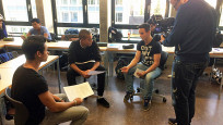 Audio «Serie «17 – wir und die anderen»: Klasse der Maurerlehrlinge» abspielen
