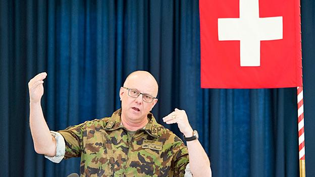 Armeechef Philippe Rebord und der Cyberkrieg