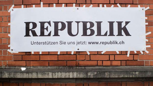 Audio «Vorschuss-Lorbeeren für Online-Magazin «Republik»» abspielen