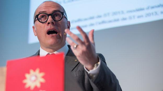Audio «Lob und Kritik für abtretenden Schweiz-Tourismus-Chef Schmid» abspielen