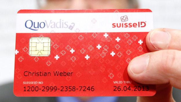 Audio «SBB und Post lancieren «SwissID»» abspielen.