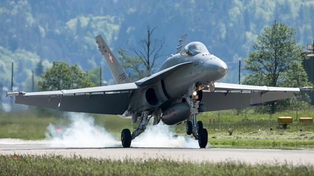 Audio «Neue Kampfflugzeuge für die Schweiz» abspielen.