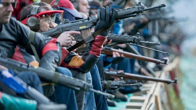 Audio «Schweiz übernimmt das schärfere EU-Waffenrecht» abspielen