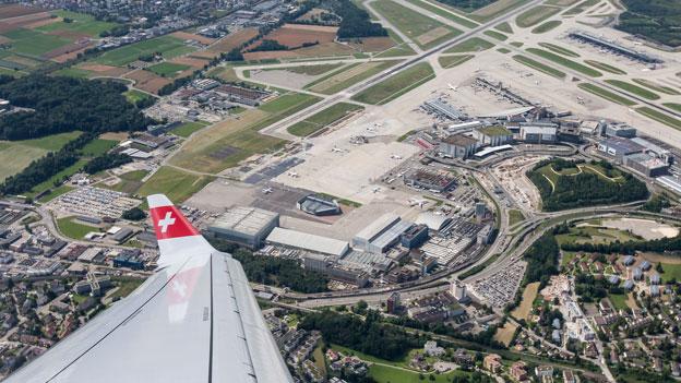 Bundesrat für Südstarts am Flughafen Zürich