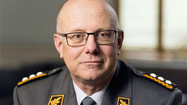 Philippe Rebord, Chef der Schweizer Armee