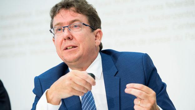 Rösti zur Bundesratswahl und zum Formtief seiner SVP