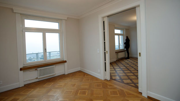 Es stehen mehr Wohnungen leer