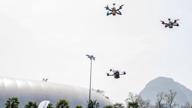 Drohnen erobern zunehmend den Luftraum