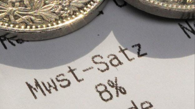Audio «Weniger Mehrwertsteuer dank Nein zur Rentenreform» abspielen