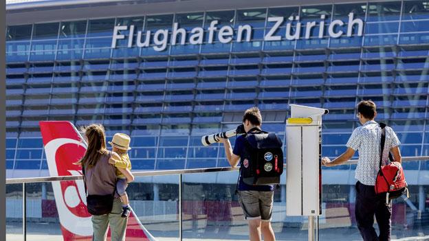 Lufthansa dominiert Markt am Flughafen Zürich