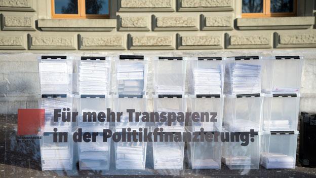 Mehr Transparenz bei Mandaten