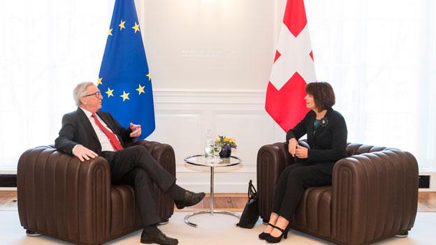 Schweiz fühlt sich von EU-Kommission düpiert