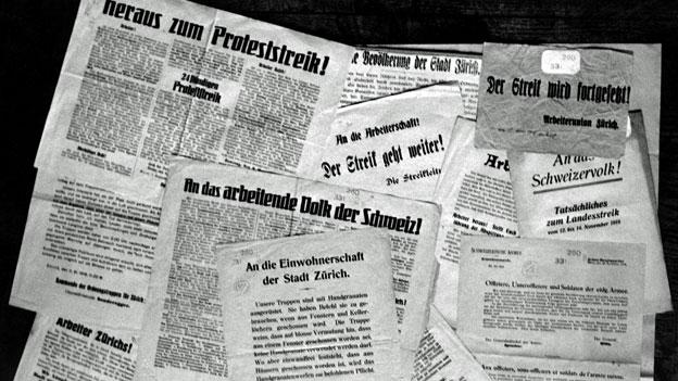 Schweizer Landesstreik 1918, Teil 1