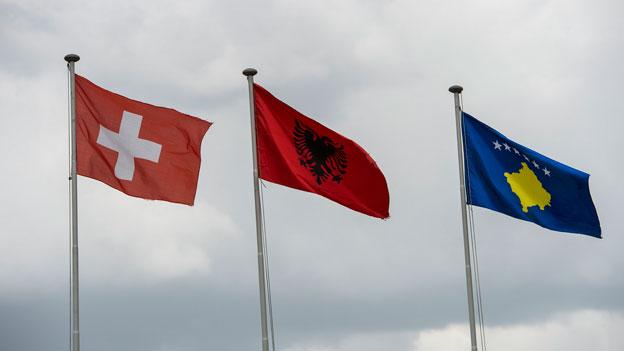 Die Schweiz und die Kosovaren