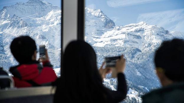 Schweiz Tourismus: Wieder mehr Gäste