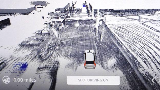 Selbstfahrende Autos in der Schweiz