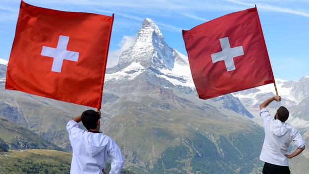 Die Schweiz - Land der Glückseligen