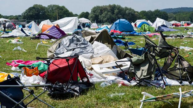 Weniger Müll dank strengen Regeln beim Einlass zum Open-Air