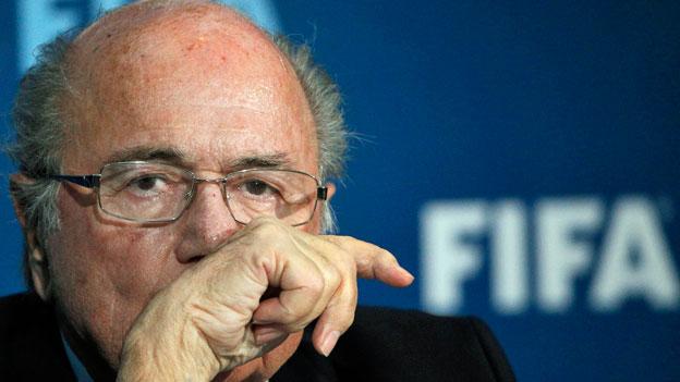 Sperre für Sepp Blatter