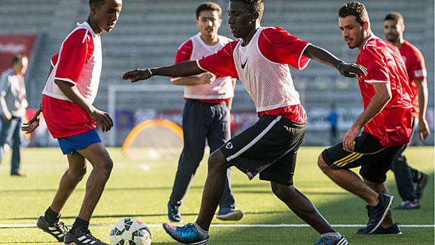 Der FC Thun und sein Engagement für Flüchtlinge