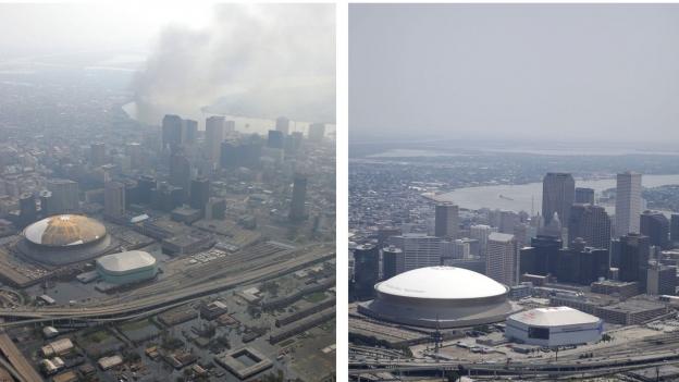 Heute vor 12 Jahren: Hurrikan Katrina trifft auf New Orleans