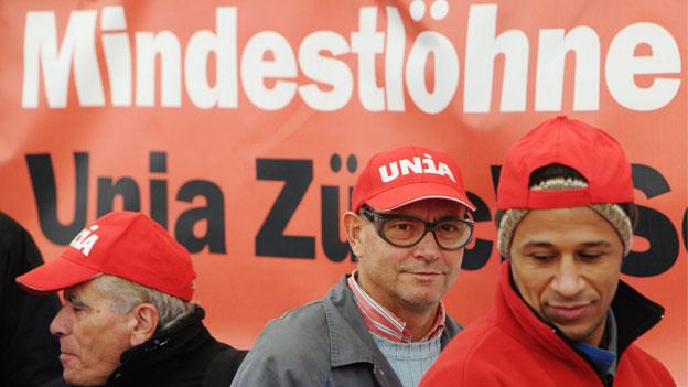Unia und Swissmem streiten um Mindestlohn