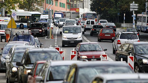 Gegen verstopfte Strassen in Städten