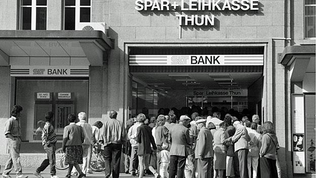 Hoffnung ist Teil des Systems - Einlagenschutz für BankkundInnen