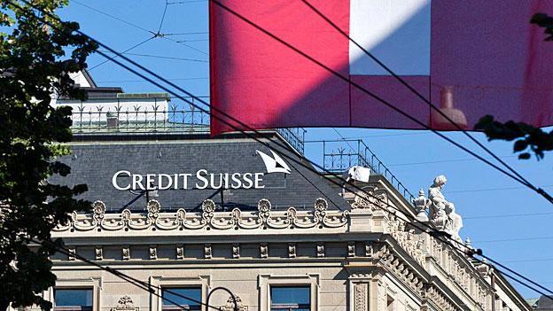 Credit Suisse erhöht Geldreserven für US-Steuerstreit