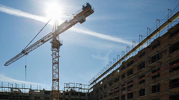 Trübere Aussichten für die Schweizer Baubranche